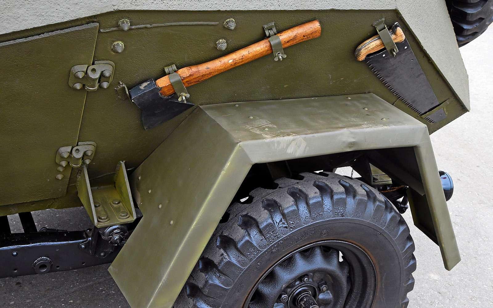 Отмечаем День Победы сбронеавтомобилем-ветераном БА‑64Б— фото 745616