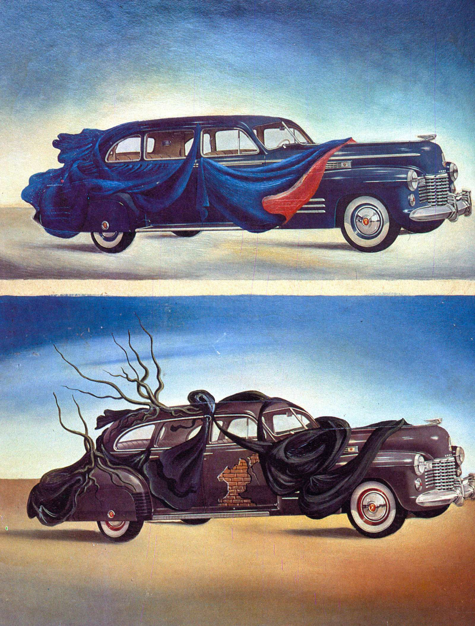 Машина маслом: автомобили вживописи— фото 610077