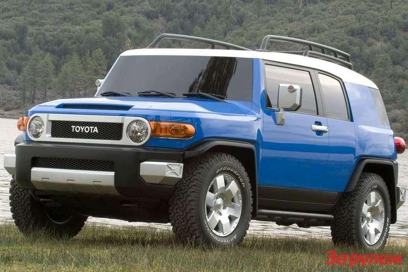 Toyota FJCruiser 2007 1600x1200 wallpaper 06