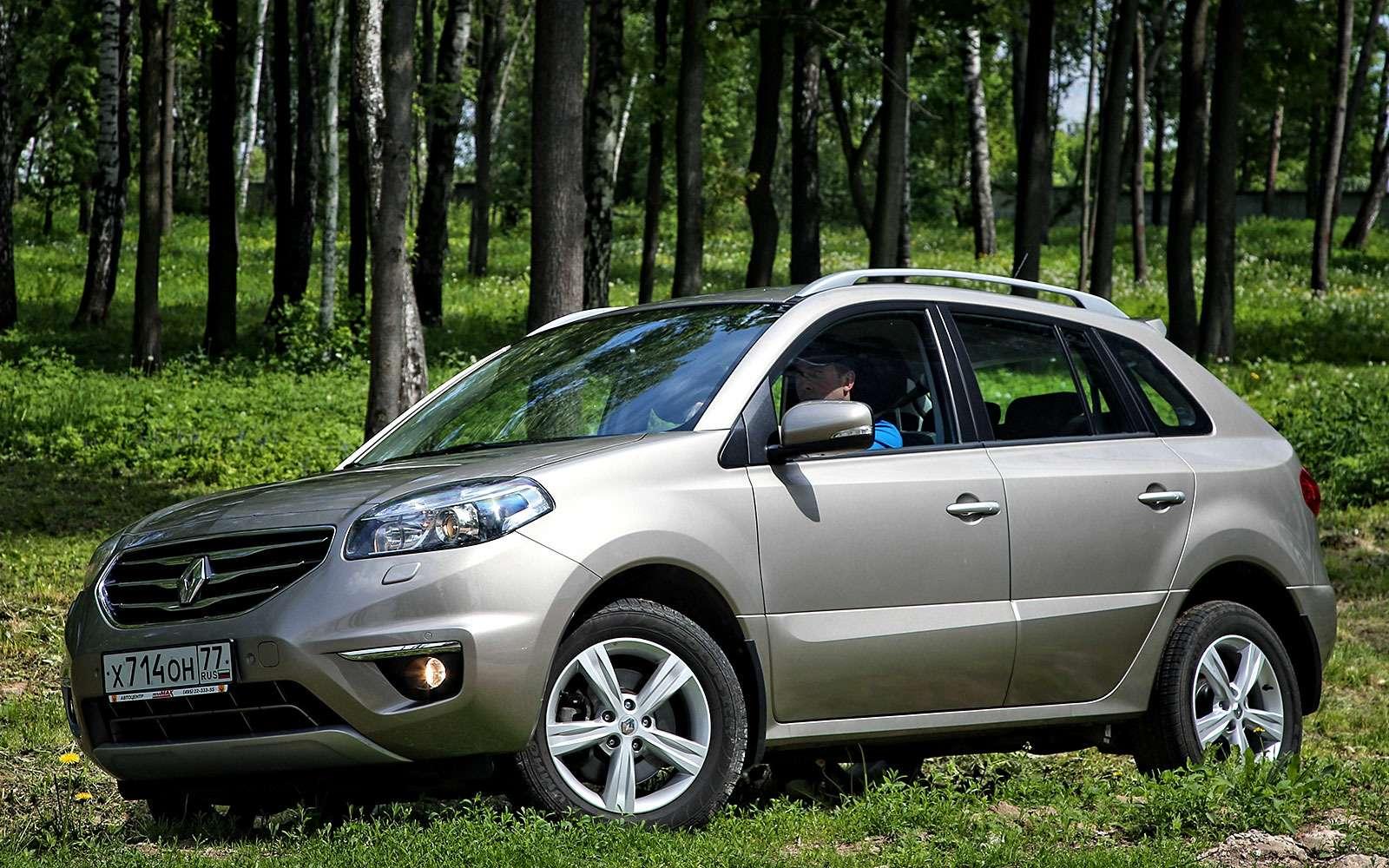 Чемновый Renault Koleos лучше старого— фото 763883