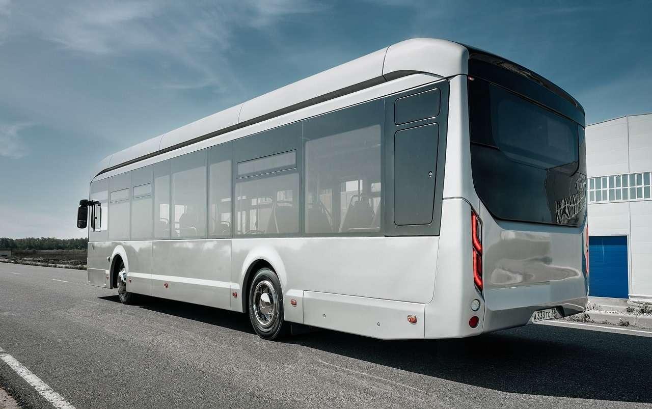 Суперсовременный городской автобус Volgabus— первые фото— фото 1254225