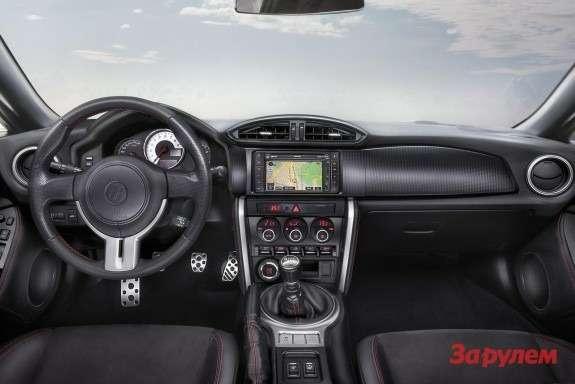 Toyota GT86inside
