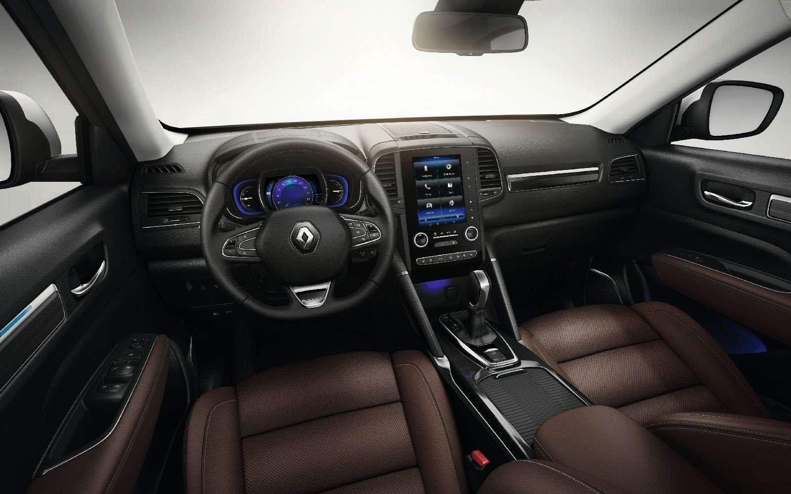 В России стартовали продажи кроссовера Renault Koleos второго поколения— фото 761961