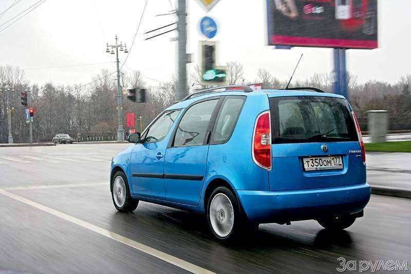 Тест Chevrolet Rezzo, Fiat Doblo, Skoda Roomster. Квадратные метры— фото 70470
