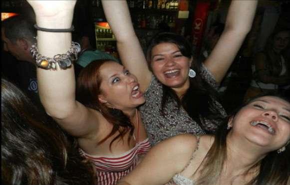 Пьяные девки из клубов