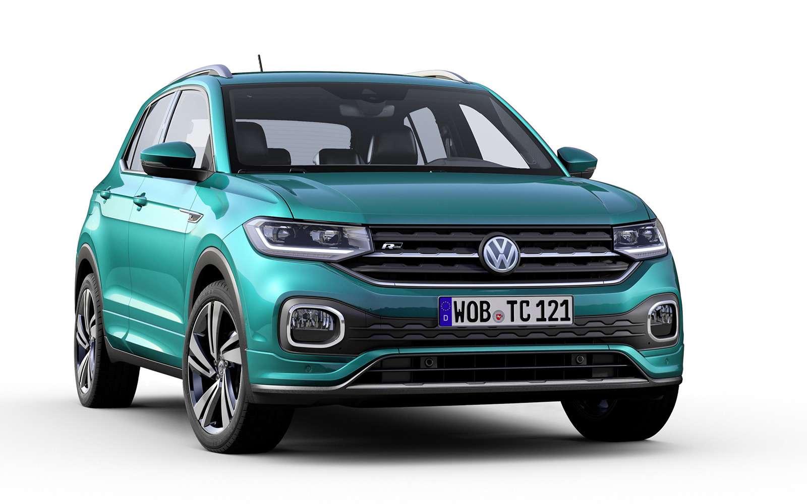 Новый кроссовер Volkswagen: онпоявится вРоссии!— фото 918209