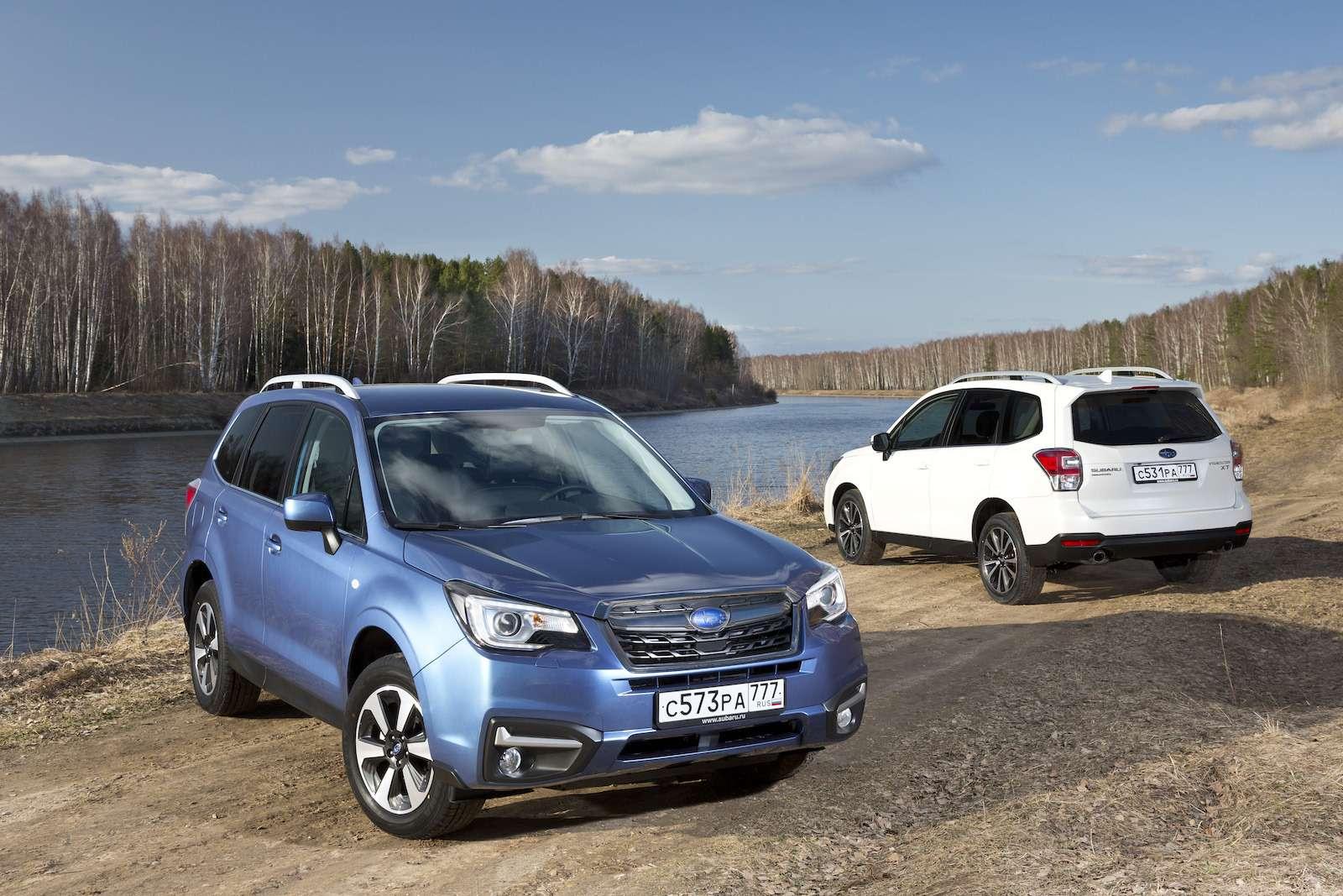 Обновленный  Subaru Forester: тише едешь...— фото 594314