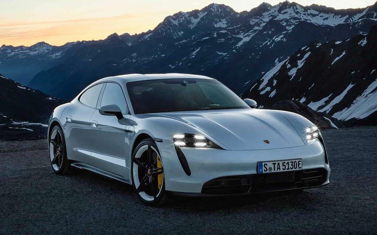 Porsche, как удар током— представлен новый Taycan— фото 994933