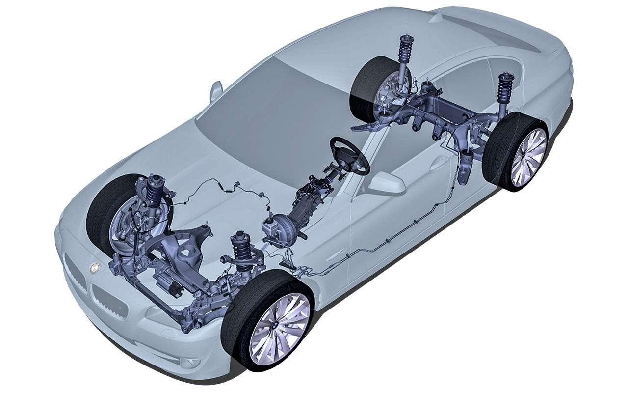 BMW5‑й серии (F10): полный список проблем— фото 1180718