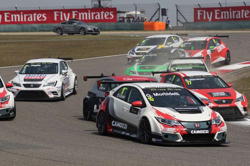 TCR International Series China, Shanghai 10 — 12 April 2015