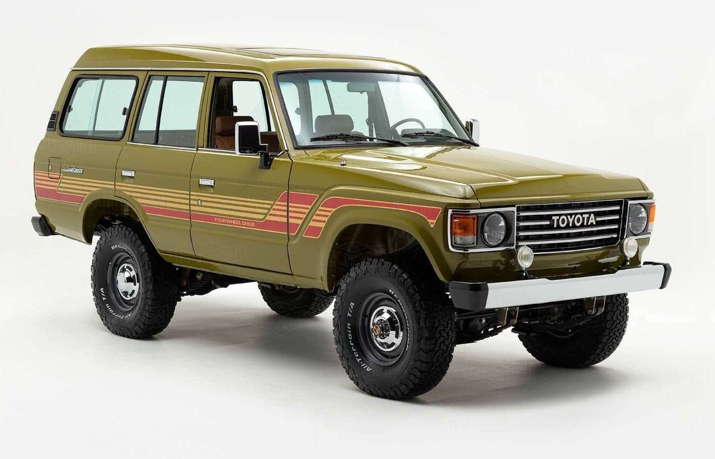 Абсолютно новый Toyota Land Cruiser 1986 года. Да, такое бывает!— фото 877219