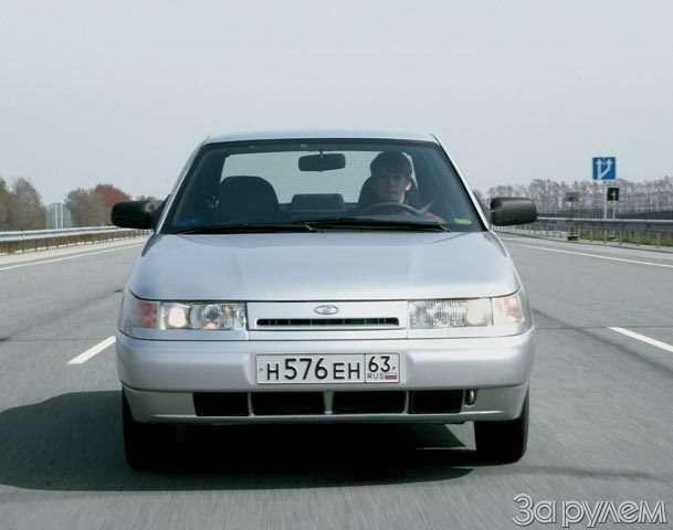 Lada 110, Lada Kalina. Первая производная— фото 56439