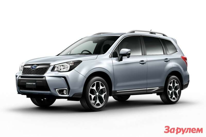 New Subaru Forester side-front view 3