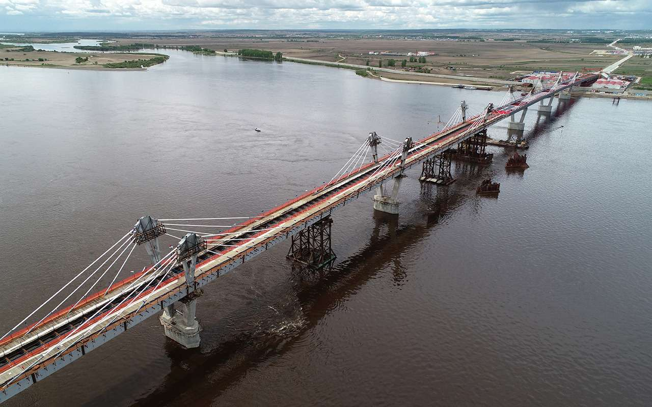 540метров, 28лет и20миллиардов рублей— Россия иКитай навели мосты— фото 977702