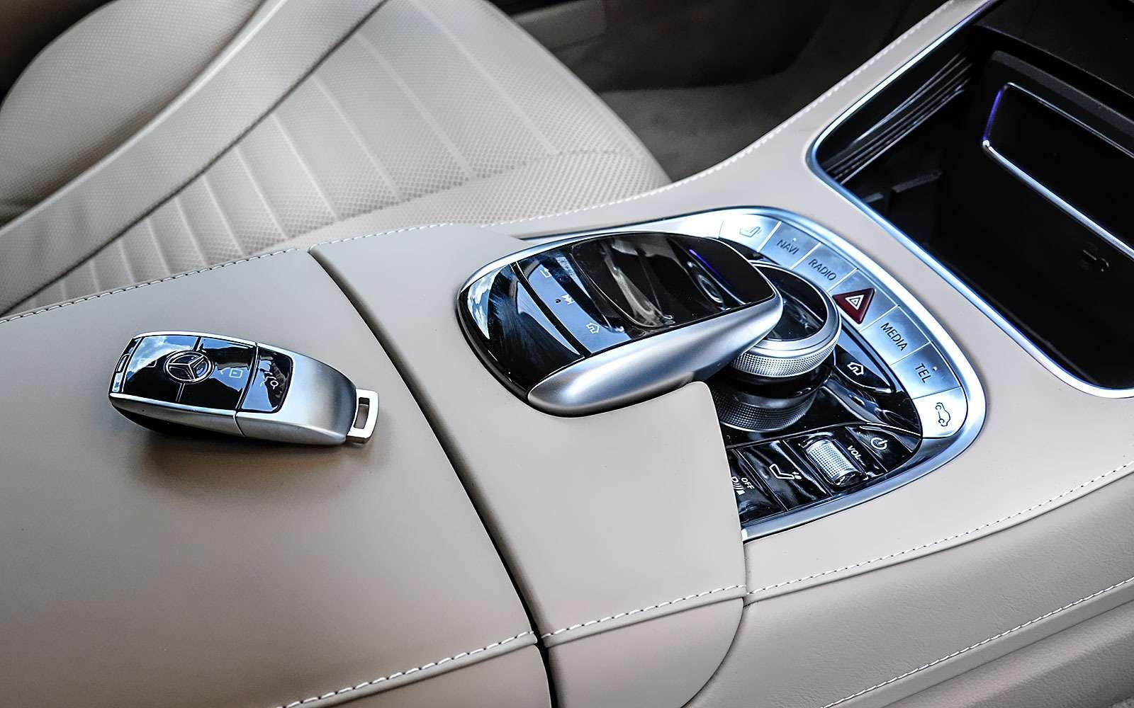 Mercedes-Benz S-класса: собновленным лицом иновыми моторами— фото 786212