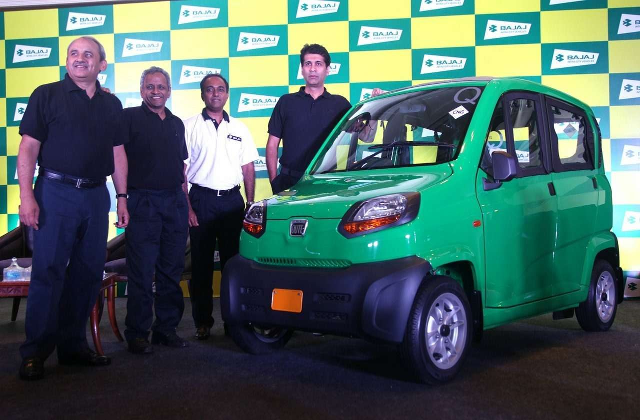 Bajaj-Qute-unveiled-in-India