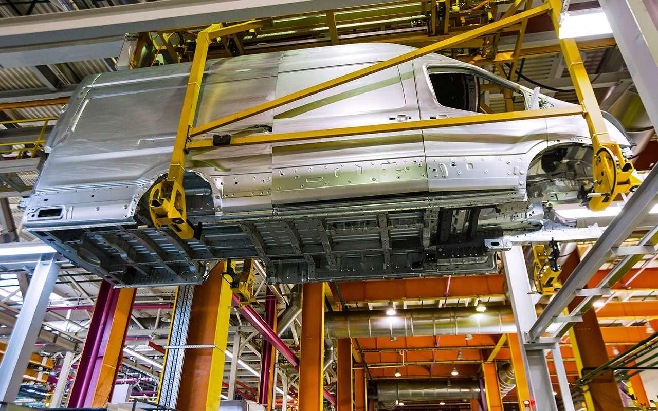 Каксобирают российские Ford Transit— репортаж сзавода— фото 888037