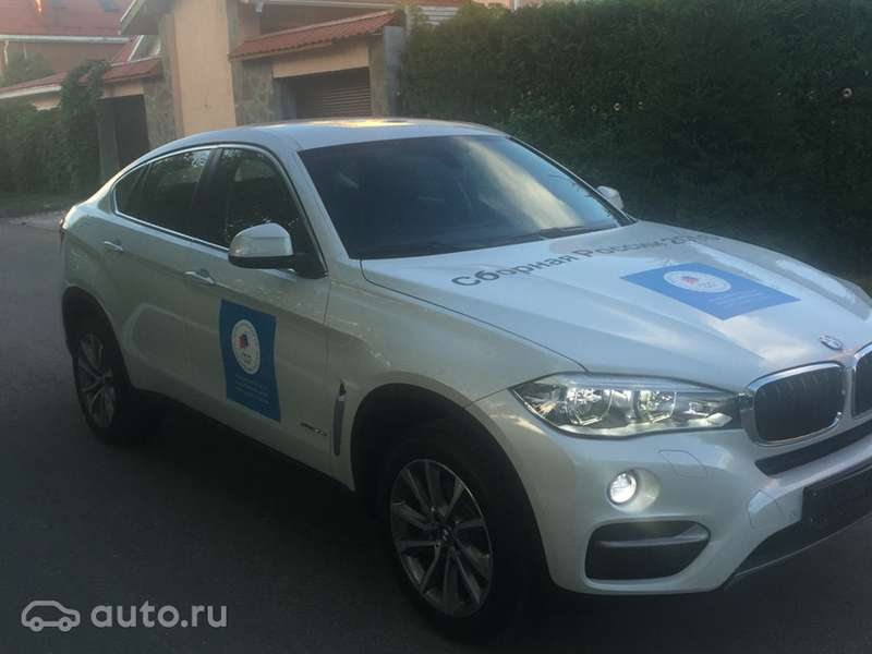 Олимпийский BMW X6выставили напродажу