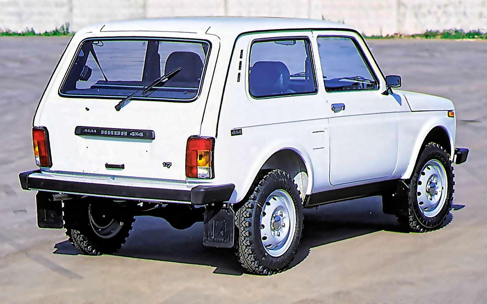 Lada 4x4: лучшее, что сней произошло за42года— фото 961008