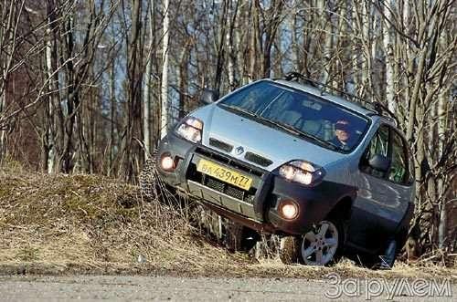 Тест Renault Scenic RX4. Мини-вэн смакси-возможностями— фото 28591