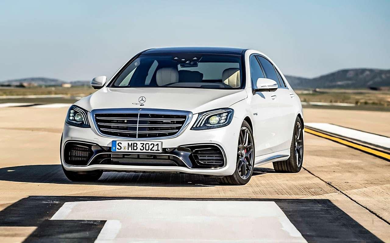 Mercedes-Benz S-класса: собновленным лицом иновыми моторами— фото 786217