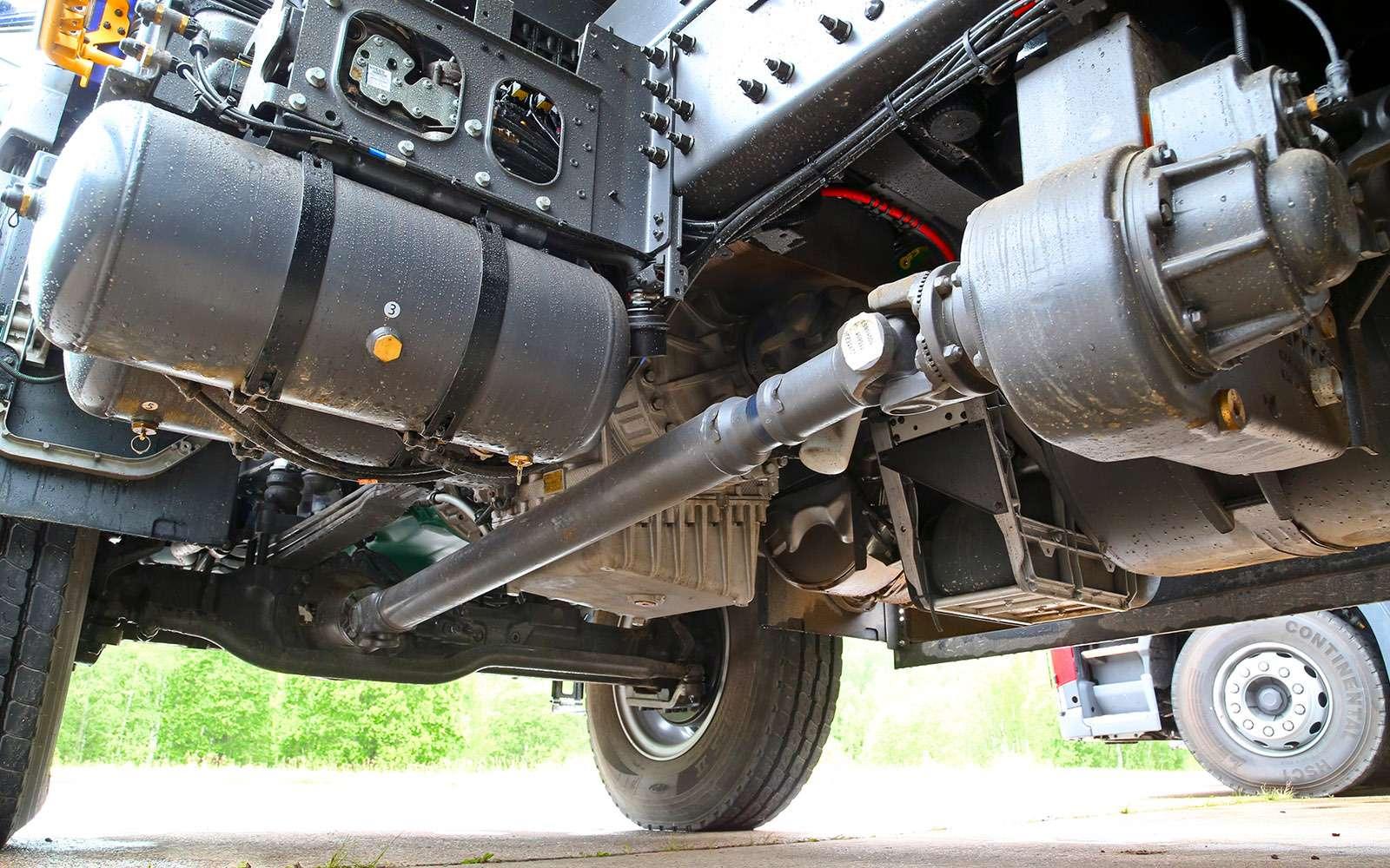 Самосвалы Volvo дляРоссии: без перегрузок наосях— фото 695653