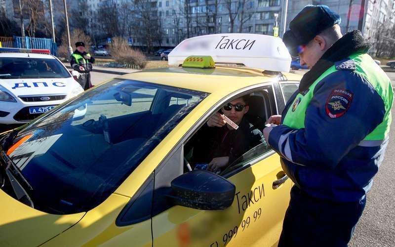 119пьяных, 9в розыске, 312без прав— результаты проверки таксистов