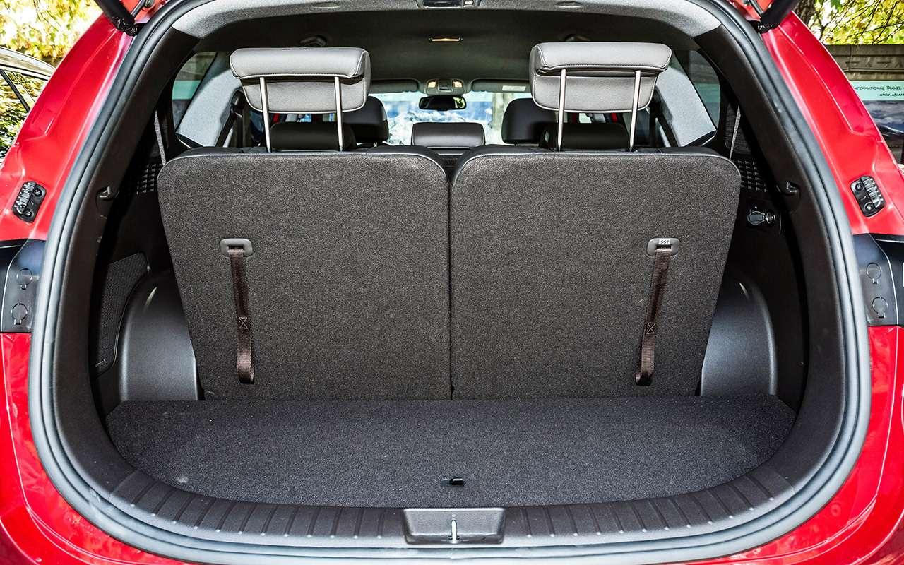 Тест нового Hyundai Santa Feскрутым автопилотом— фото 920452