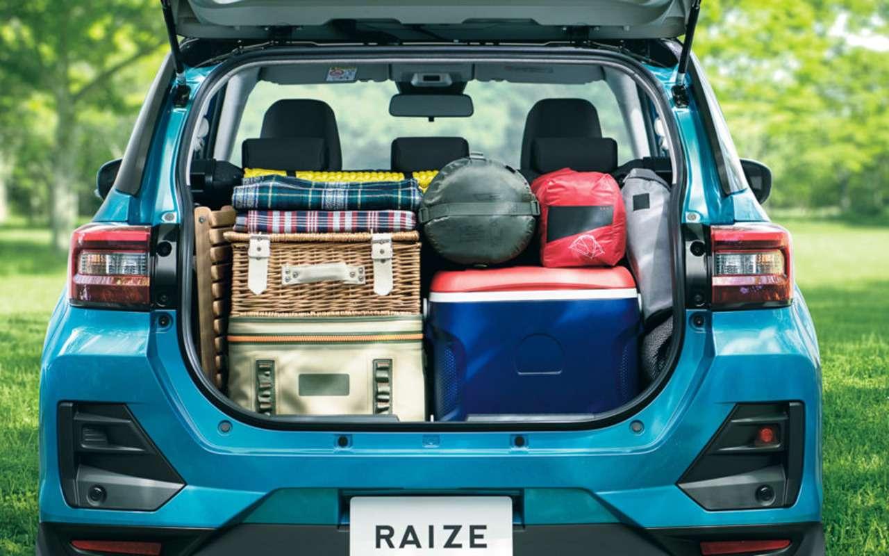 Маленький семейный кроссовер: дебют Toyota Raize— фото 1007081