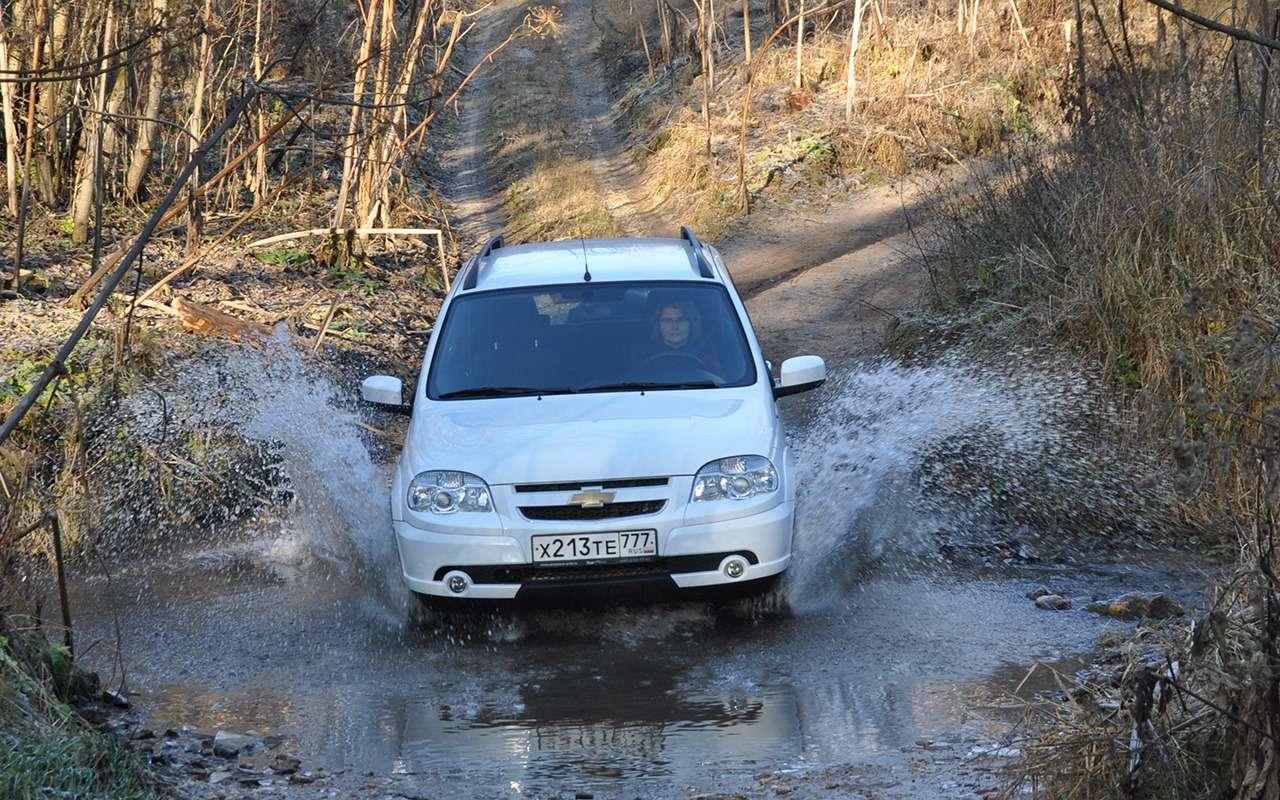Chevrolet Niva LSGA: плюс 25лошадей и33Нм момента!— фото 924613