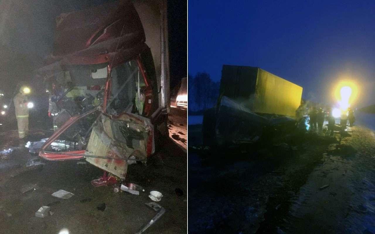 В ГАЗели навстречке погибли все пассажиры— фото 1083854
