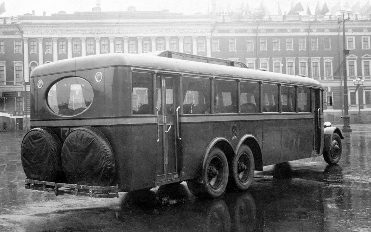 Таких автобусов мыневидели!— Гигант ЯА‑2— фото 1275751