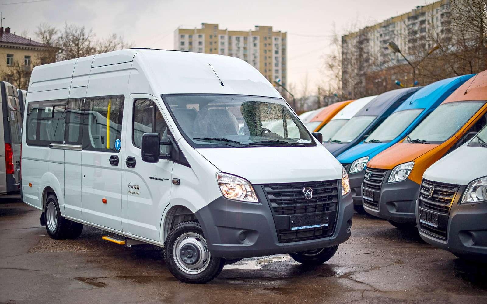 Автобус ГАЗель Next: маршрут построен— фото 766497