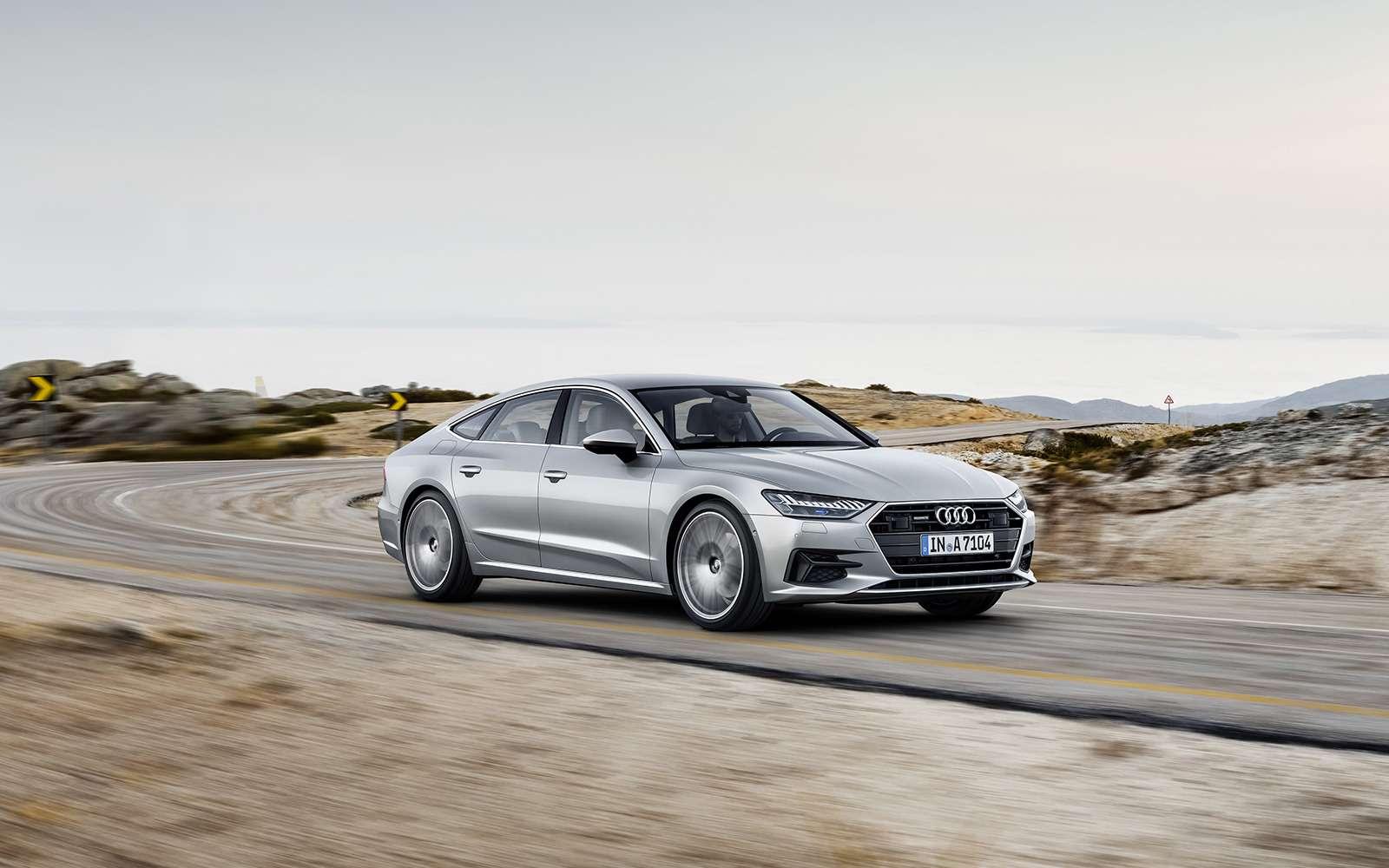 Новая Audi A7Sportback— вся насенсорах— фото 807155