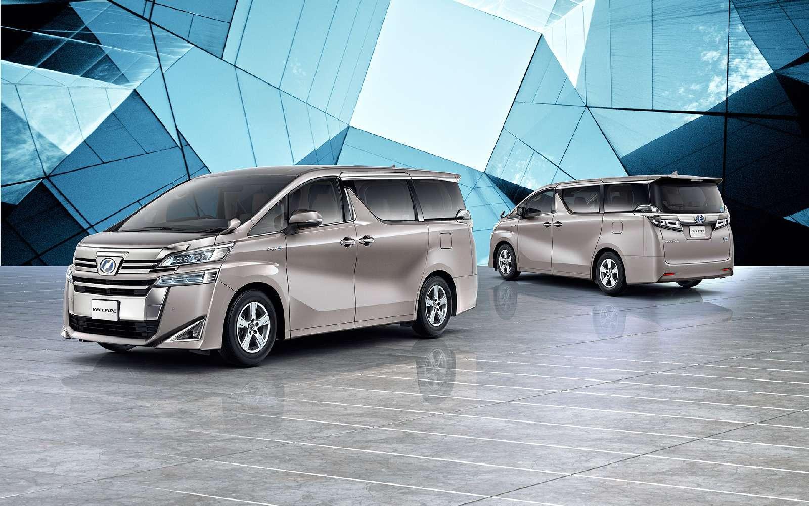 Обновленный Toyota Alphard: маски-шоу иновый силовой агрегат— фото 829990