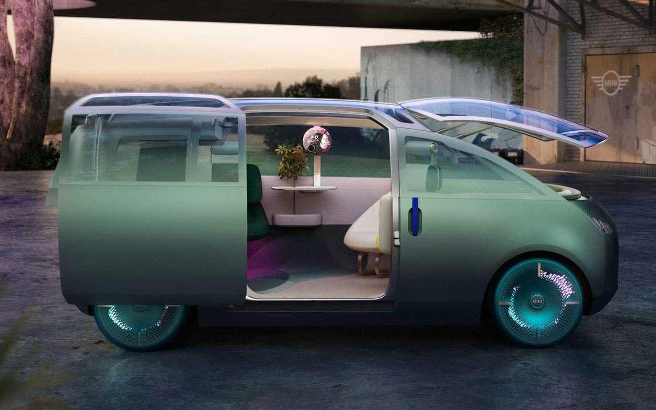 Автомобили будут вот ЭТИМ? Концепт отMini— фото 1202540