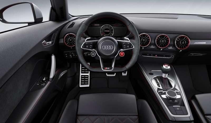 Новый Audi TTRSдосчитал допяти