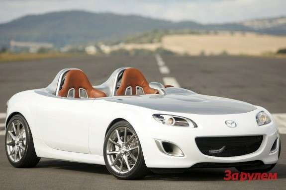 Mazda MX-5 Superlight Concept side-front view