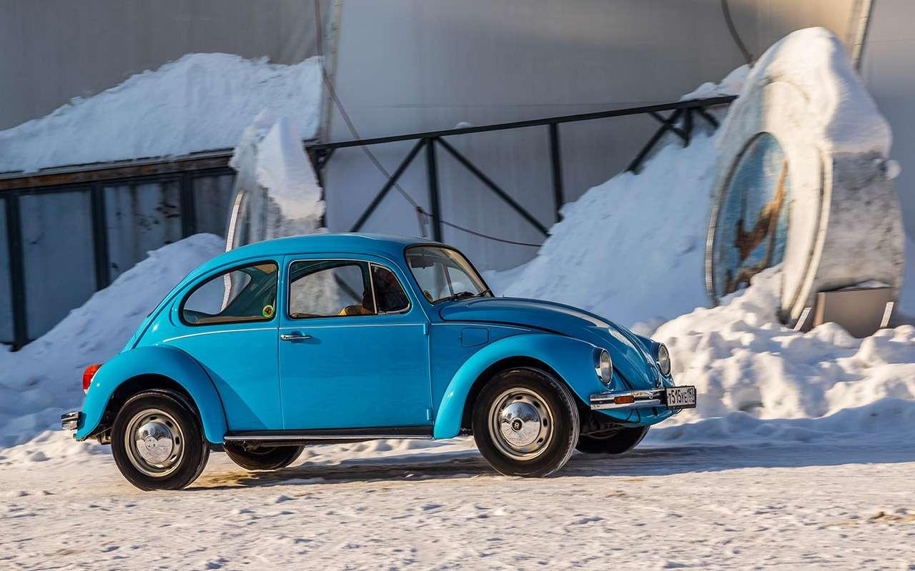 Советские автомобили против иномарок— супертест кюбилею— фото 858347