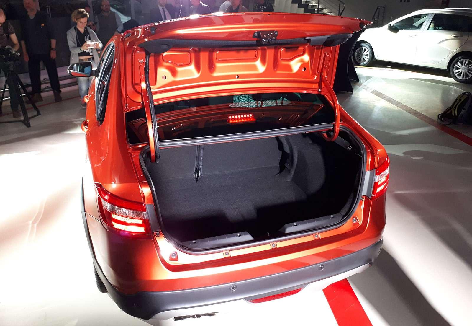 Седан Lada Vesta Cross: производство началось. Когда его ждать впродаже?— фото 863342