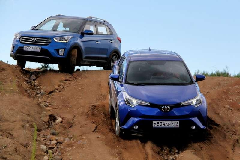 Toyota C-HR— Hyundai Creta