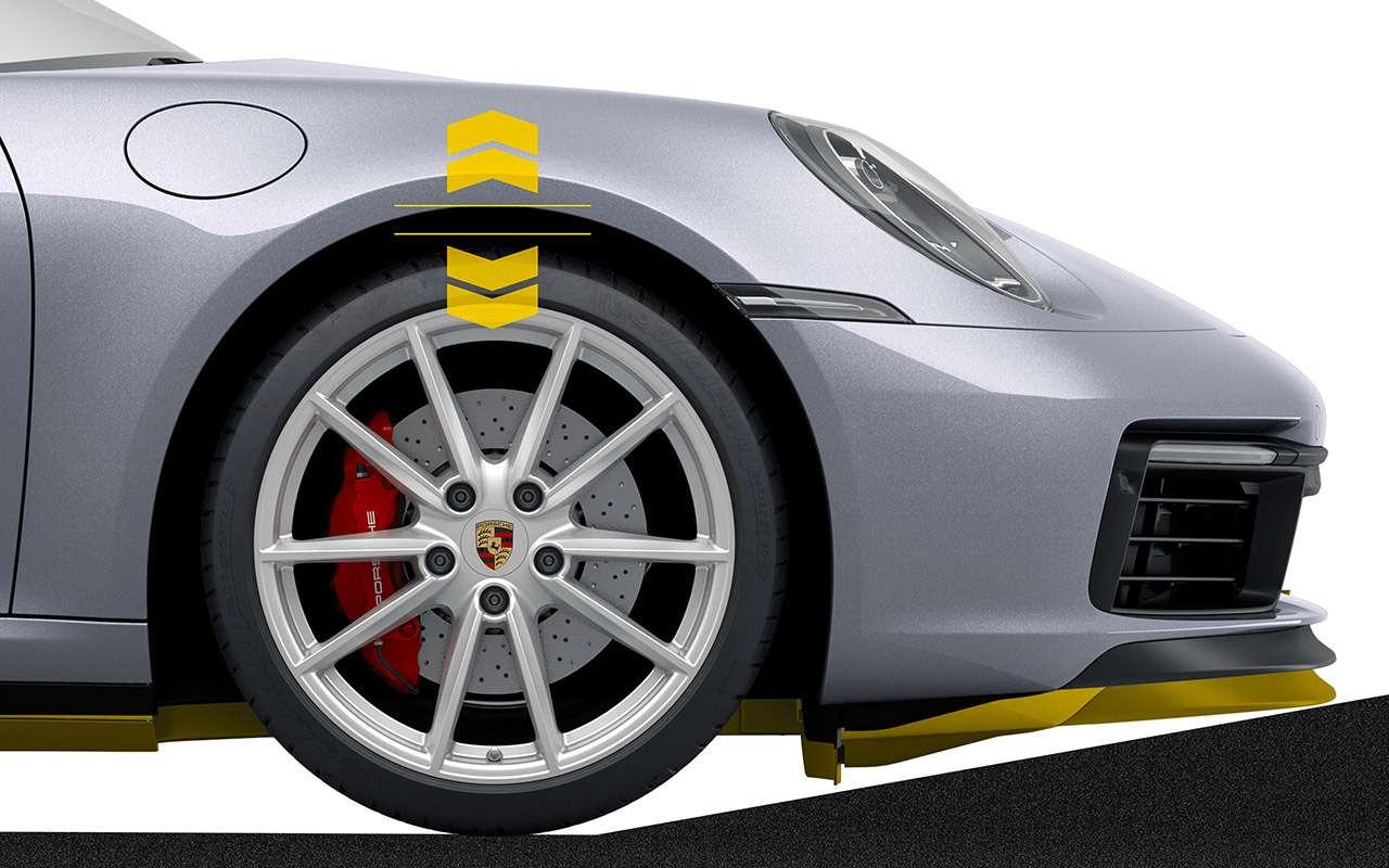 Новый Porsche 911: тест-драйв в«мокром» режиме— фото 950810