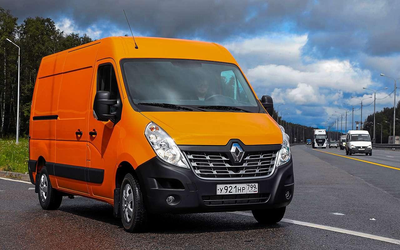 Renault длябизнеса: тест «тонника» Master— фото 994261