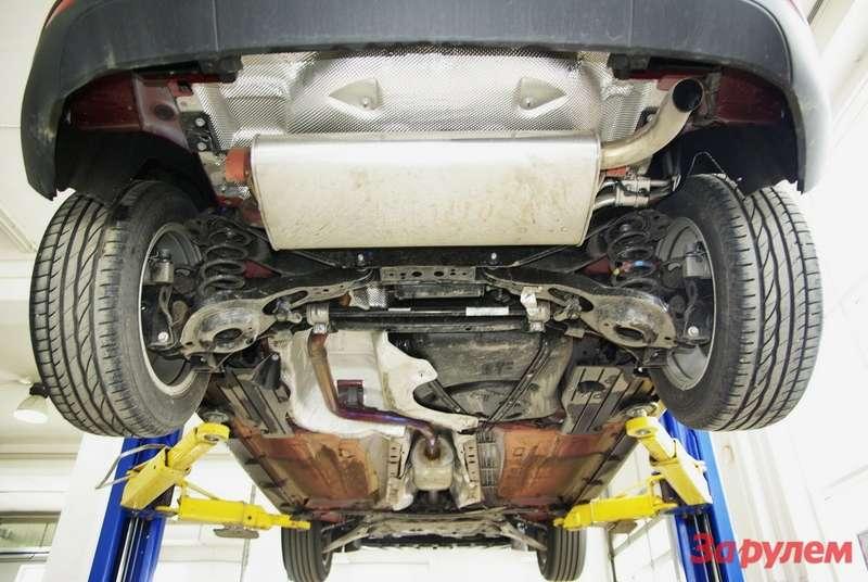 Ford Focus 3вид снизу