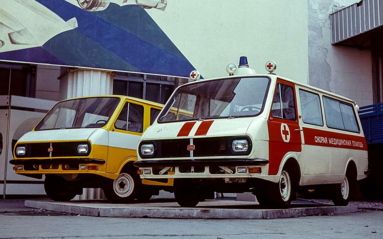Тотсамый «рафик»: полная история главного микроавтобуса СССР— фото 1218806