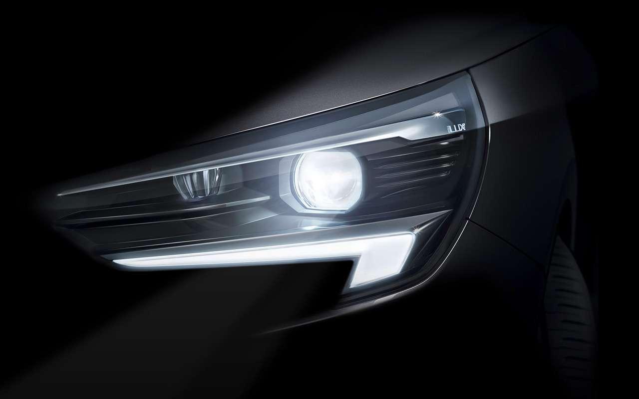 Opel показал кусочек новой Корсы