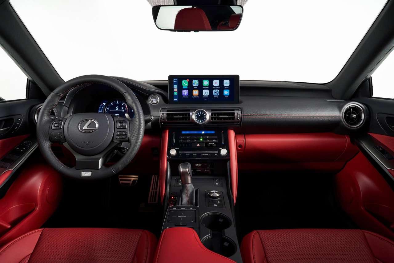 Представлен новый Lexus IS— фото 1140412