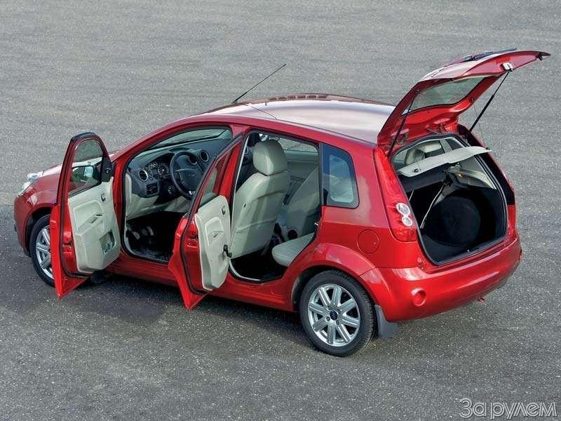 Тест Lada Kalina, Hyundai Getz, Ford Fiesta. Вкомпании спровинциалом.— фото 68899