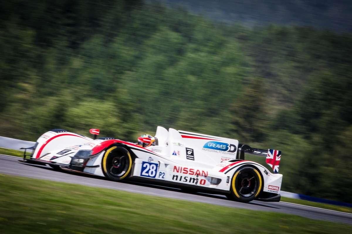 James Littlejohn (GBR)/ Anthony Wells (GBR)/ James Walker (GBR) driving the #28 LMP2 Greaves Motorsport (GBR) Zytek Z11SN-Nissan
