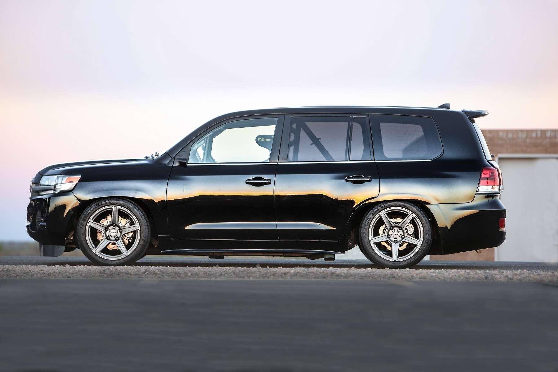 Крузак сулицы Вязов: свыше 300 км/ч наToyota Twin Turbo Land Speed Cruiser— фото 657731